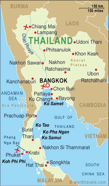 Wil je meer informatie over Thailand ?